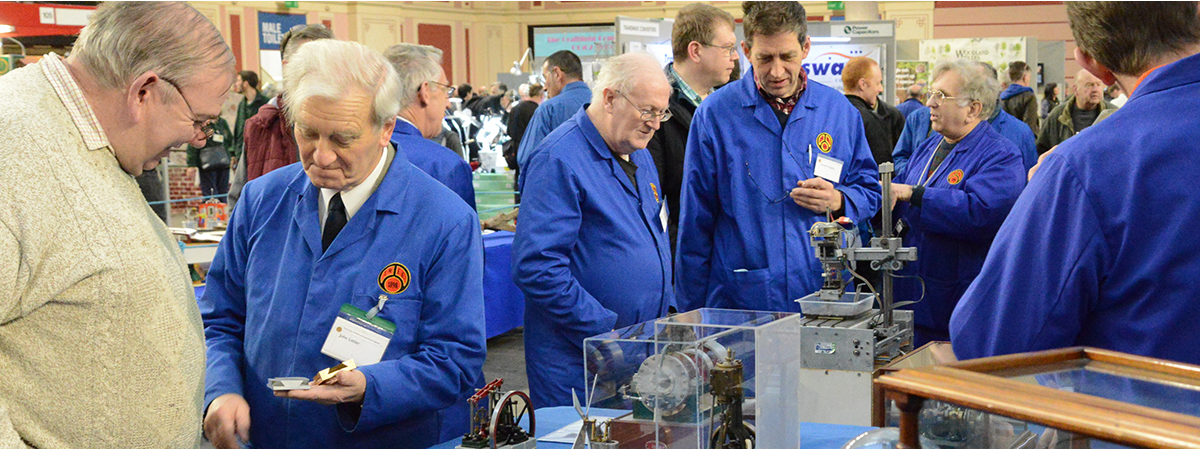 SMEE Members have a wide range of model engineering interests.  Why not join us?