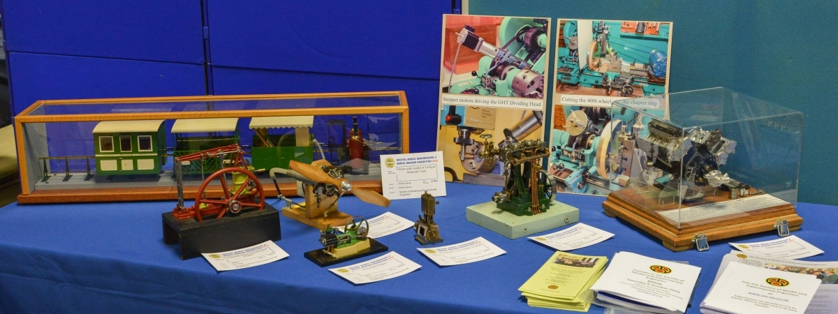 Part of the recent display at the Bristol Model Engineering Exhibition